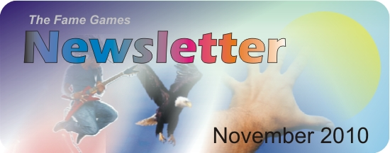 Slowly But Surely… (November 2010 Newsletter)
