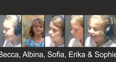 Becca, Albina, Sophie, Erika & Sofia – Mercy