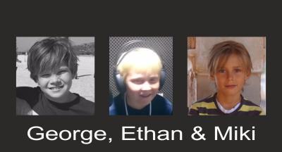 George, Ethan & Miki – Let Me Entertain You